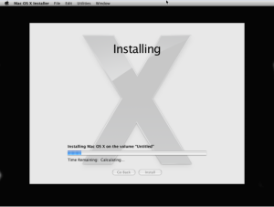 OSX reinstallation